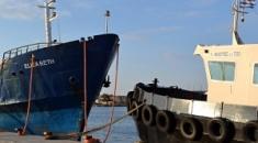 Παρελθόν θα αποτελεί σύντομα το πλοίο «Ελίζαμπεθ»- Ξεκίνησε η διάλυση και απομάκρυνσή του από το λιμάνι των Ν. Μουδανιών