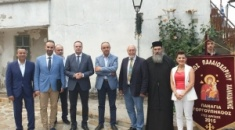 Ο Αλέξης Ζορμπάς επιστρέφει στο σπίτι του, στο Παλαιοχώρι Χαλκιδικής